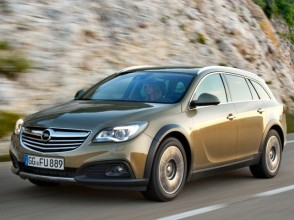 Фотографии Opel Insignia Country Tourer 2019 года
